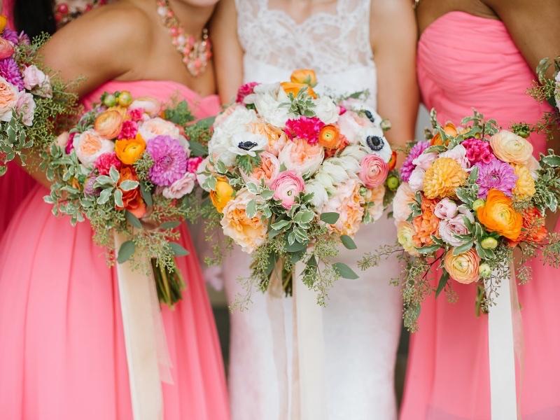 Букеты для свадьбы фото